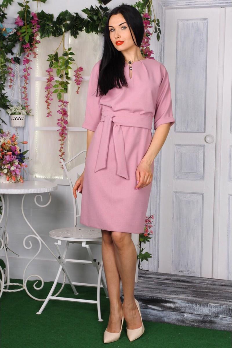 Платье 772-01 цвет пудра