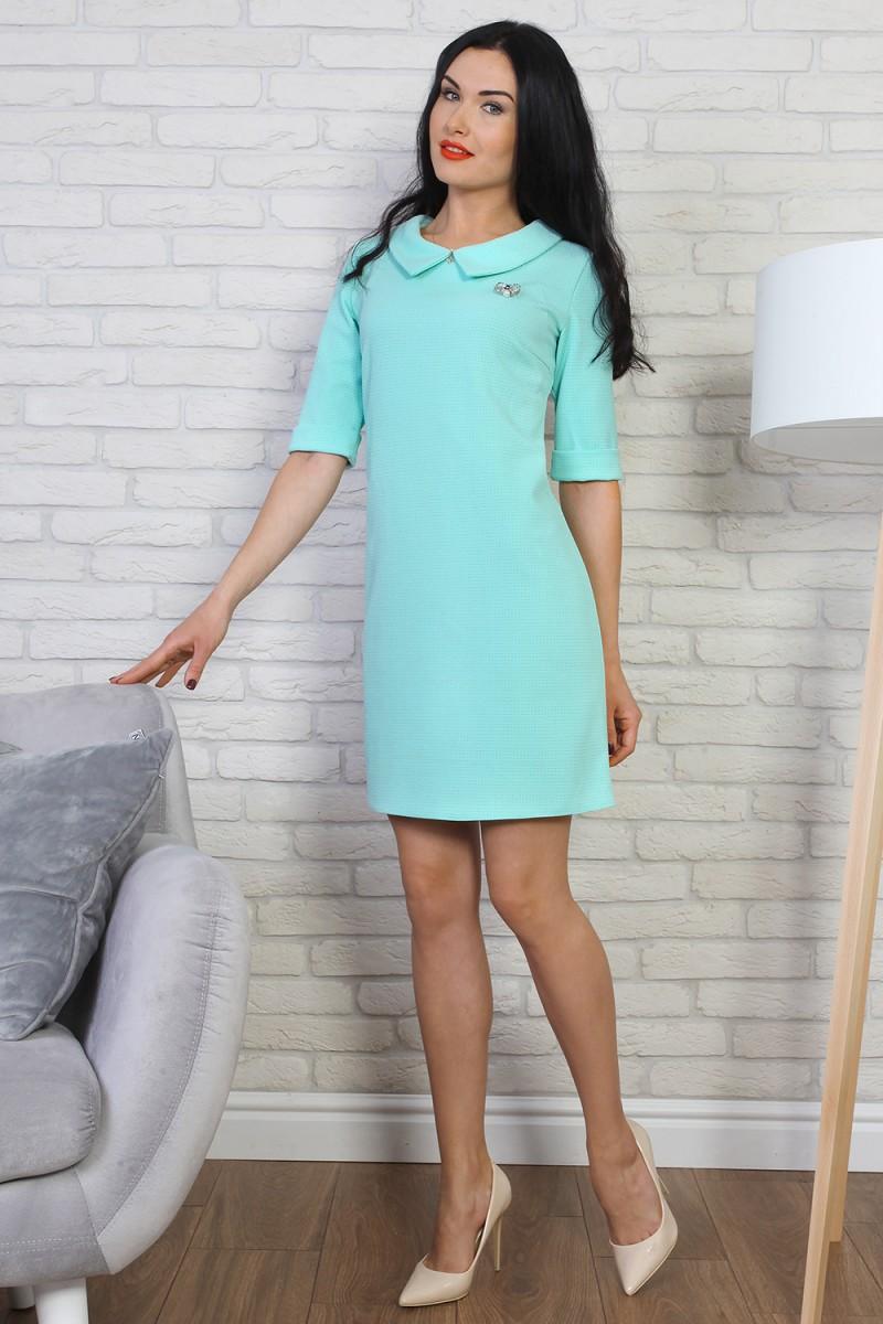 Платье 775-04 цвет мятный