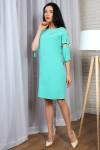 Платье 776-01 цвет салатовый