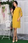 Платье 776-04 цвет желтый