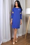 Платье 776-02 цвет синий