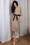 Платье 777-01 цвет коричневый