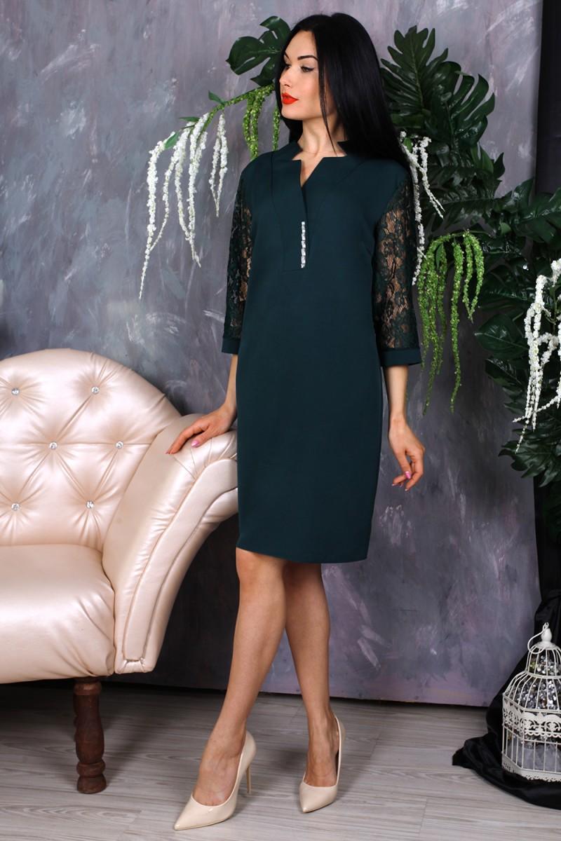Платье 778-03 цвет зеленый