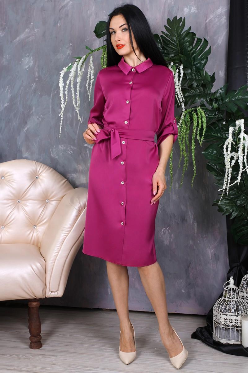 Платье 779-01 цвет бордовый