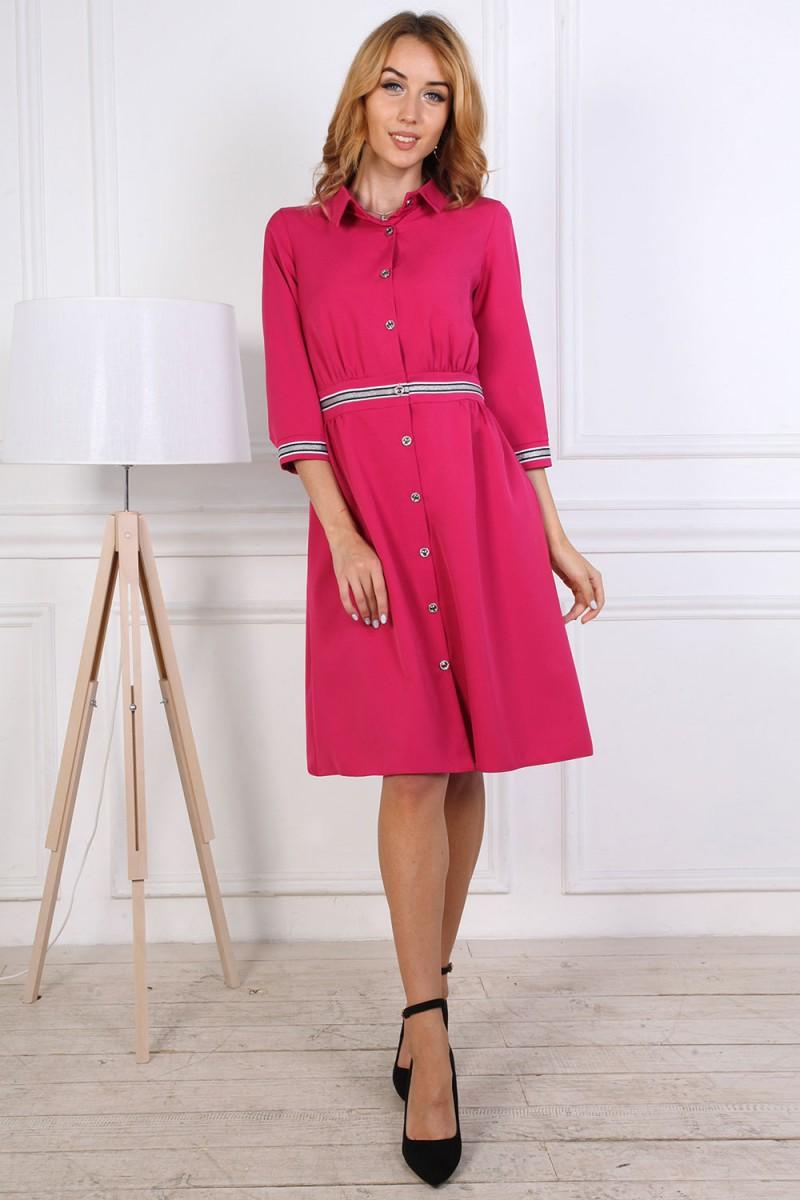 Платье от производителя 807-05 розового цвета