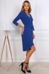Нарядное платье от производителя 809-02 синего цвета