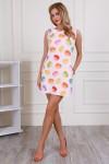 Платье 704-02 цвет пудровый