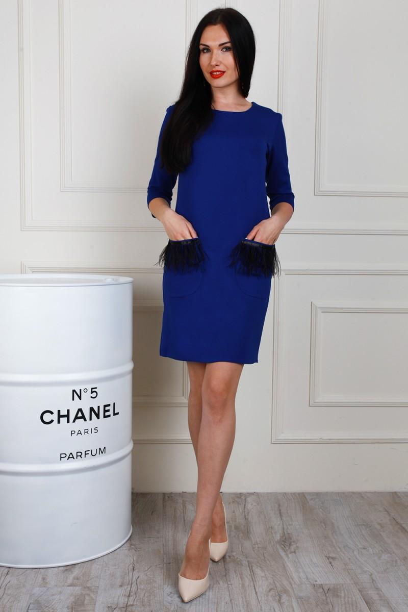 Платье 653-01 цвет бутылочный