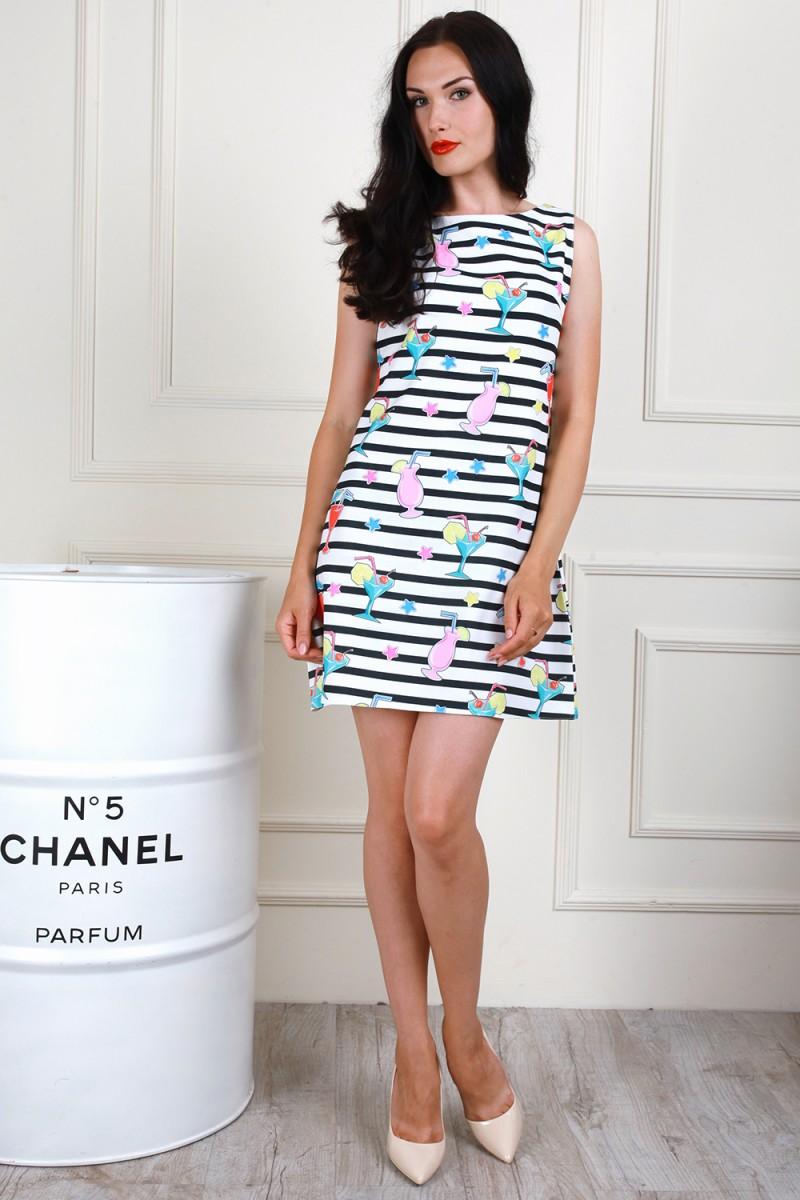 Платье 704-04 цвет молочный
