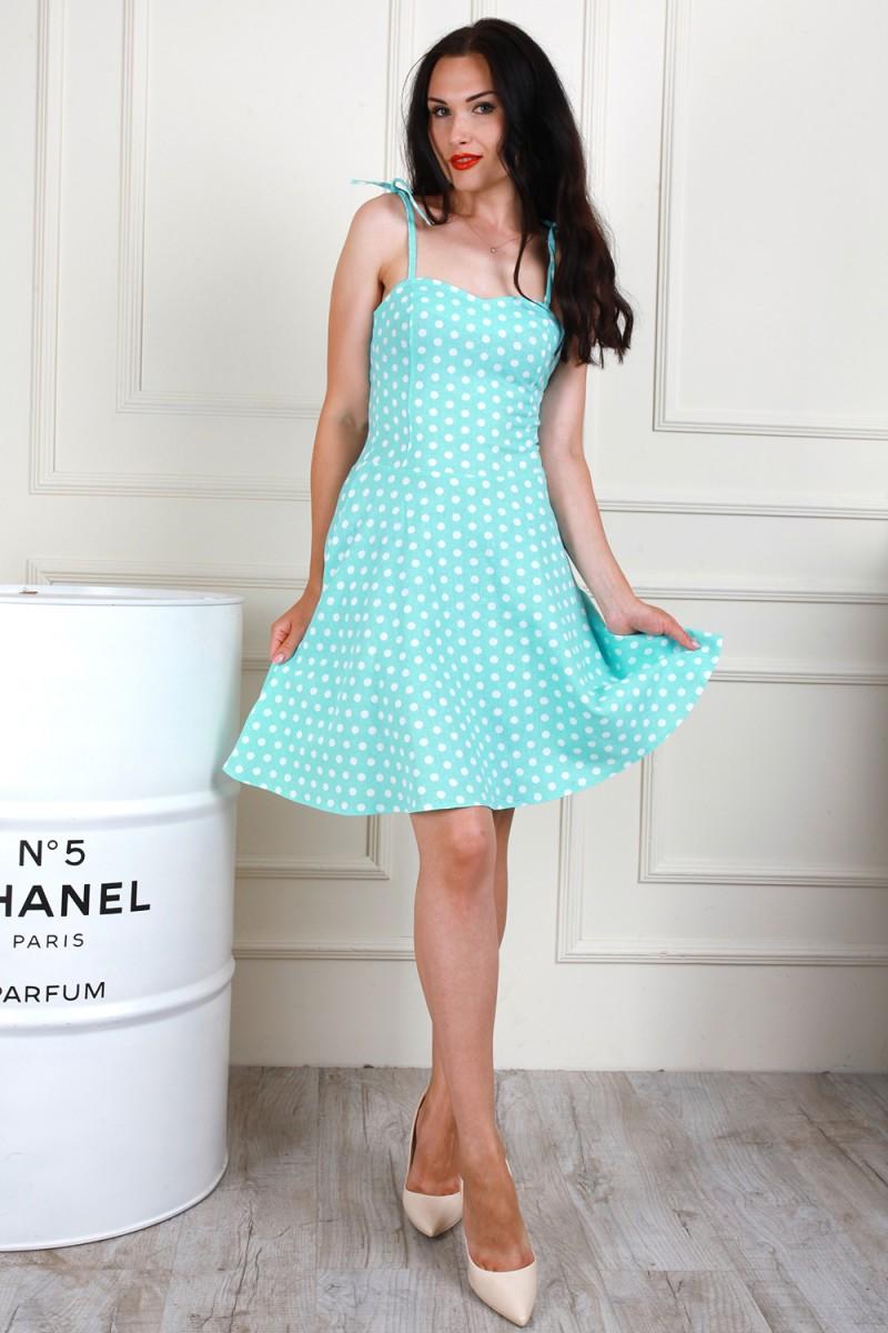 Платье 705-03 цвет мятный
