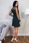Платье 770-03 цвет бутылочный