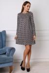 Платье 746-01 цвет пудра